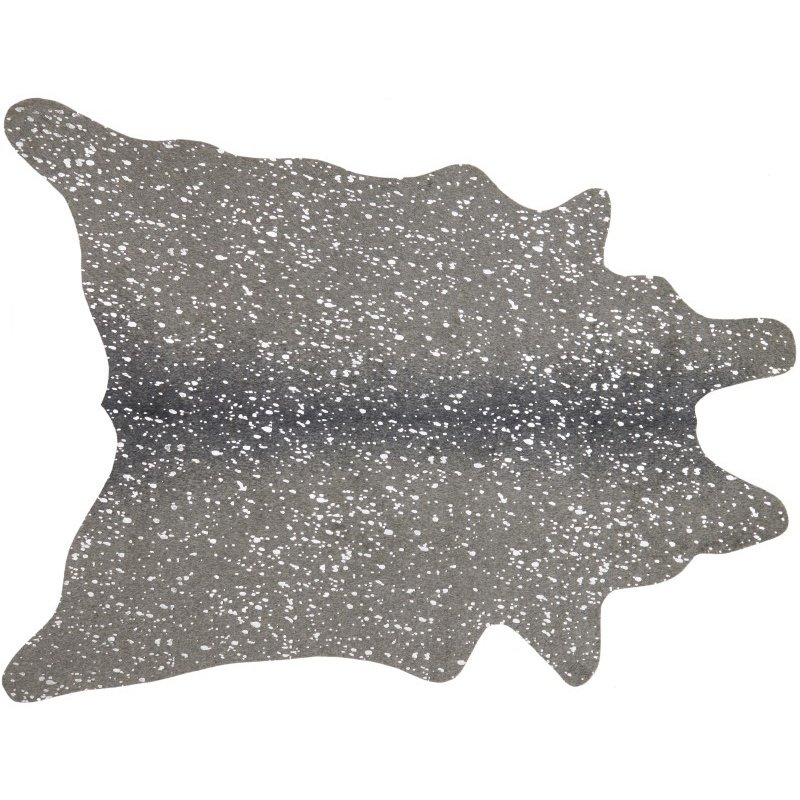 """Loloi II Bryce BZ-03 5' x 6' 6"""" Rectangle Rug in Graphite and Silver (BRYCBZ-03GTSI5066)"""