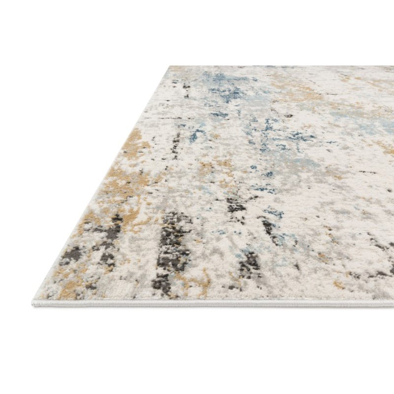 """Loloi II Alchemy ALC-01 Power Loomed 6' 7"""" x 9' 2"""" Rectangle Rug in Stone and Slate (ALCHALC-01SNSL6792)"""