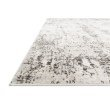 """Loloi II Alchemy ALC-04 Power Loomed 2' 8"""" x 4' Rectangle Rug in Silver and Graphite (ALCHALC-04SIGT2840)"""