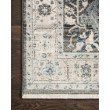 """Loloi II Athena ATH-03 Traditional Power Loomed 7' 9"""" x 10' Rectangle Rug in Grey and Sky (ATHEATH-03GYSC79A0)"""