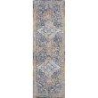 "Loloi II Dante DN-04 Transitional Power Loomed 6' 7"" x 9' 2"" Rectangle Rug in Multi and Stone (DANTDN-04MLSN6792)"