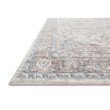 """Loloi II Dante DN-05 Transitional Power Loomed 5' 3"""" x 7' 2"""" Rectangle Rug in Ivory and Stone (DANTDN-05IVSN5372)"""