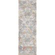 "Loloi II Dante DN-06 Transitional Power Loomed 7' 10"" x 10' 6"" Rectangle Rug in Natural and Sunrise (DANTDN-06NASR7AA6)"