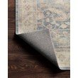 Loloi II Hathaway HTH-02 Traditional Power Loomed 2' x 5' Rectangle Rug in Denim and Multi (HATHHTH-02DEML2050)