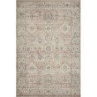 """Loloi II Hathaway HTH-03 Traditional Power Loomed 7' 6"""" x 9' 6"""" Rectangle Rug in Java and Multi (HATHHTH-03JVML7696)"""