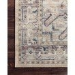 """Loloi II Hathaway HTH-07 Traditional Power Loomed 2' 3"""" x 3' 9"""" Rectangle Rug in Multi and Ivory (HATHHTH-07MLIV2339)"""