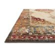 """Loloi II Isadora ISA-04 Transitional Power Loomed 5' x 7' 3"""" Rectangle Rug in Ant. Ivory and Sunset (ISADISA-04AISS5073)"""
