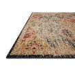Loloi II Jocelyn JOC-07 Transitional Power Loomed 4' x 6' Rectangle Rug in Khaki and Multi (JOCEJOC-07KHML4060)