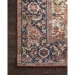 "Loloi II Layla LAY-08 7' 6"" x 9' 6"" Rectangle Rug in Red and Navy (LAYLLAY-08RENV7696)"
