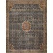"Loloi II Layla LAY-09 3' 6"" x 5' 6"" Rectangle Rug in Cobalt Blue and Spice (LAYLLAY-09CUSQ3656)"