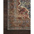 """Loloi II Layla LAY-09 3' 6"""" x 5' 6"""" Rectangle Rug in Cobalt Blue and Spice (LAYLLAY-09CUSQ3656)"""