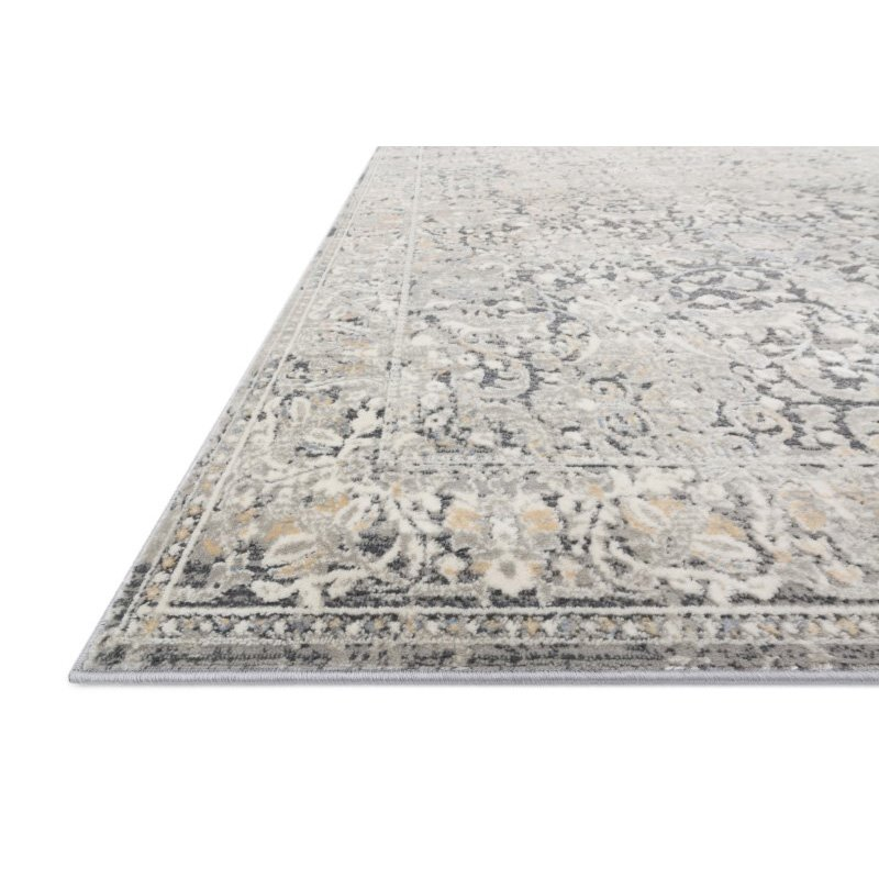 """Loloi II Lucia LUC-04 Transitional Power Loomed 2' 8"""" x 8' Runner Rug in Grey and Mist (LCIALUC-04GYMI2880)"""
