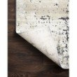 """Loloi II Lucia LUC-06 Transitional Power Loomed 5' 2"""" x 7' 7"""" Rectangle Rug in Granite (LCIALUC-06GN005277)"""