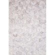 """Loloi II Maddox MAD-07 Contemporary Power Loomed 2' 6"""" x 7' 6"""" Runner Rug in Lt Grey and Ivory (MADDMAD-07LCIV2676)"""