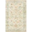 """Loloi II Rosette ROS-01 Traditional Power Loomed 2' 6"""" x 9' 9"""" Rectangle Rug in Beige and Multi (ROSTROS-01BEML2699)"""