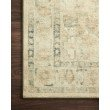 """Loloi II Rosette ROS-05 Traditional Power Loomed 1' 6"""" x 1' 6"""" Sample Swatch Square Rug in Sand and Ivory (ROSTROS-05SAIV160S)"""