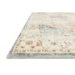 """Loloi II Rosette ROS-06 Traditional Power Loomed 7' 6"""" x 9' 6"""" Rectangle Rug in Clay and Ivory (ROSTROS-06CGIV7696)"""