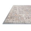 """Loloi II Skye SKY-01 Traditional Power Loomed 5' x 7' 6"""" Rectangle Rug in Grey and Apricot (SKYESKY-01GYAP5076)"""