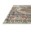 """Loloi II Skye SKY-06 Traditional Power Loomed 7' 6"""" x 9' 6"""" Rectangle Rug in Apricot and Mist (SKYESKY-06APMI7696)"""