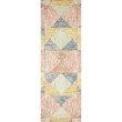 """Loloi II Spectrum SPE-01 Contemporary Hooked 2' 3"""" x 3' 9"""" Rectangle Rug in Ivory and Multi (SPECSPE-01IVML2339)"""
