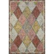 """Loloi II Spectrum SPE-02 Contemporary Hooked 8' 6"""" x 12' Rectangle Rug in Turquoise and Fiesta (SPECSPE-02TQFD86C0)"""