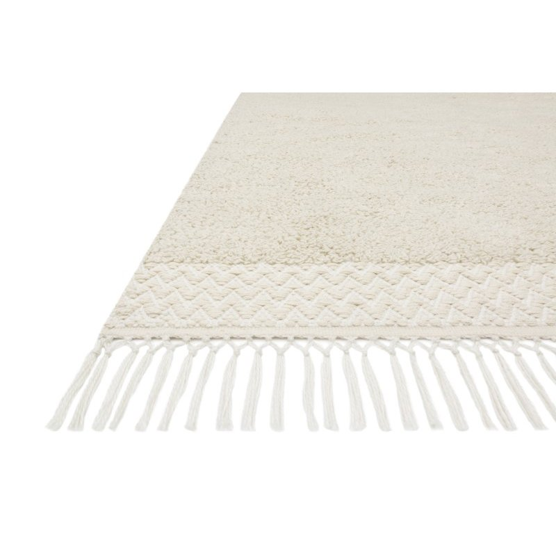 """Loloi Aries ARE-02 Contemporary Hand Woven 7' 9"""" x 9' 9"""" Rectangle Rug in Ivory (ARIEARE-02IV007999)"""