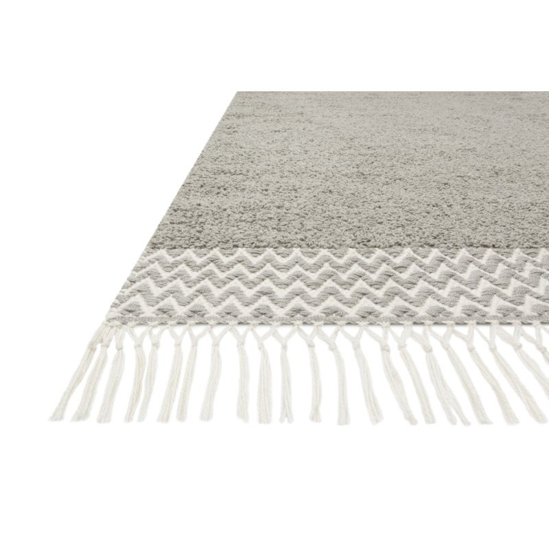 """Loloi Aries ARE-02 Contemporary Hand Woven 9' 3"""" x 13' Rectangle Rug in Dove (ARIEARE-02DV0093D0)"""