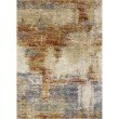 "Loloi Augustus AGS-02 Contemporary Power Loomed 1' 6"" x 1' 6"" Sample Swatch Square Rug in Terracotta (AUGSAGS-02TC00160S)"