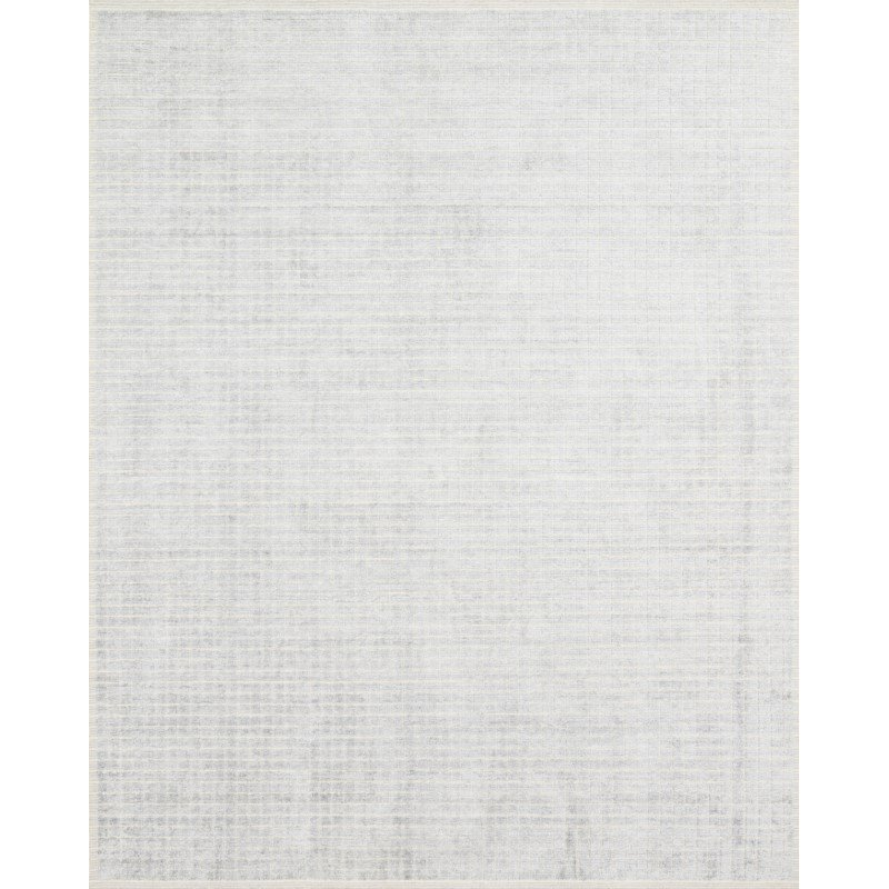 Loloi Beverly BEV-01 Contemporary Hand Loomed 2' x 3' Rectangle Rug in Silver and Sky (BEVEBEV-01SISC2030)