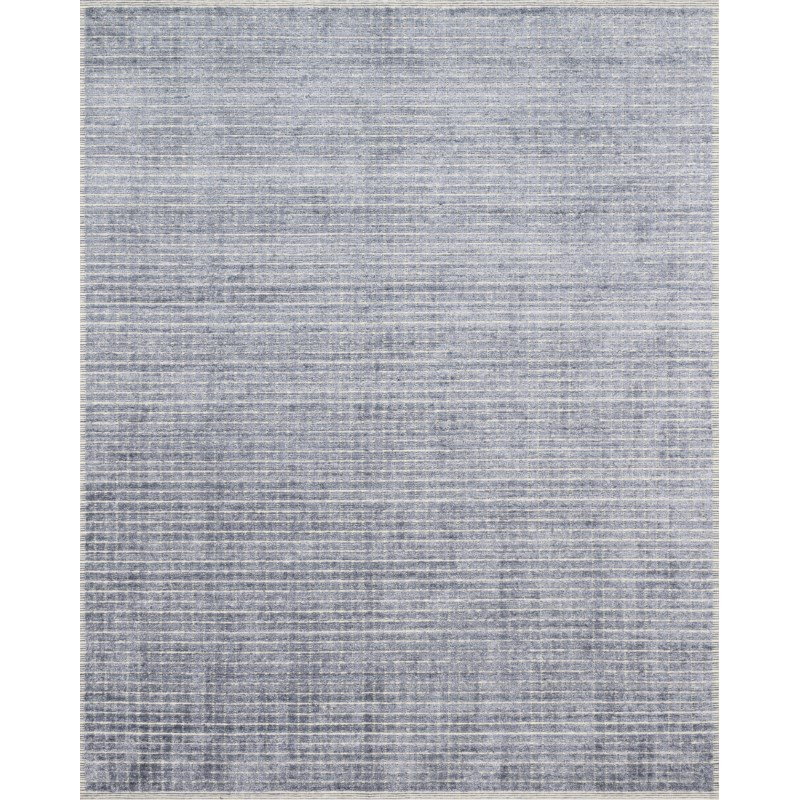 "Loloi Beverly BEV-01 Contemporary Hand Loomed 7' 9"" x 9' 9"" Rectangle Rug in Denim (BEVEBEV-01DE007999)"