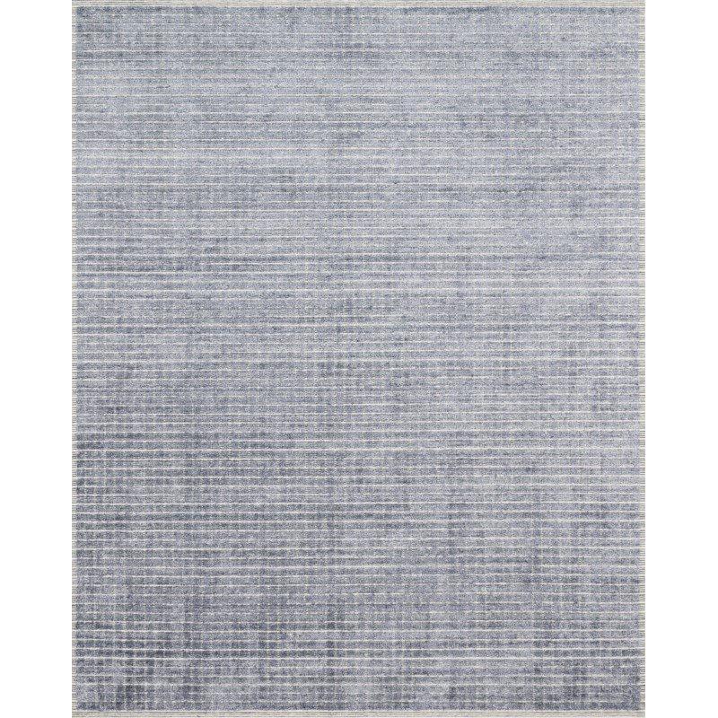 "Loloi Beverly BEV-01 Contemporary Hand Loomed 9' 6"" x 13' 6"" Rectangle Rug in Denim (BEVEBEV-01DE0096D6)"