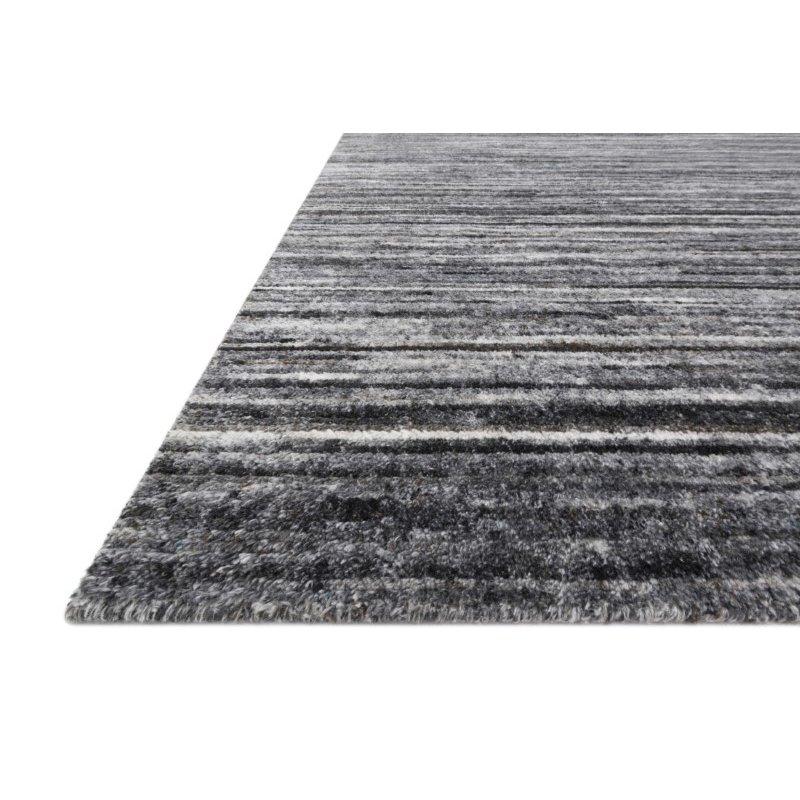 Loloi Brandt BRA-01 Hand Loomed 4' x 6' Rectangle Rug in Grey and Slate (BRANBRA-01GYSL4060)