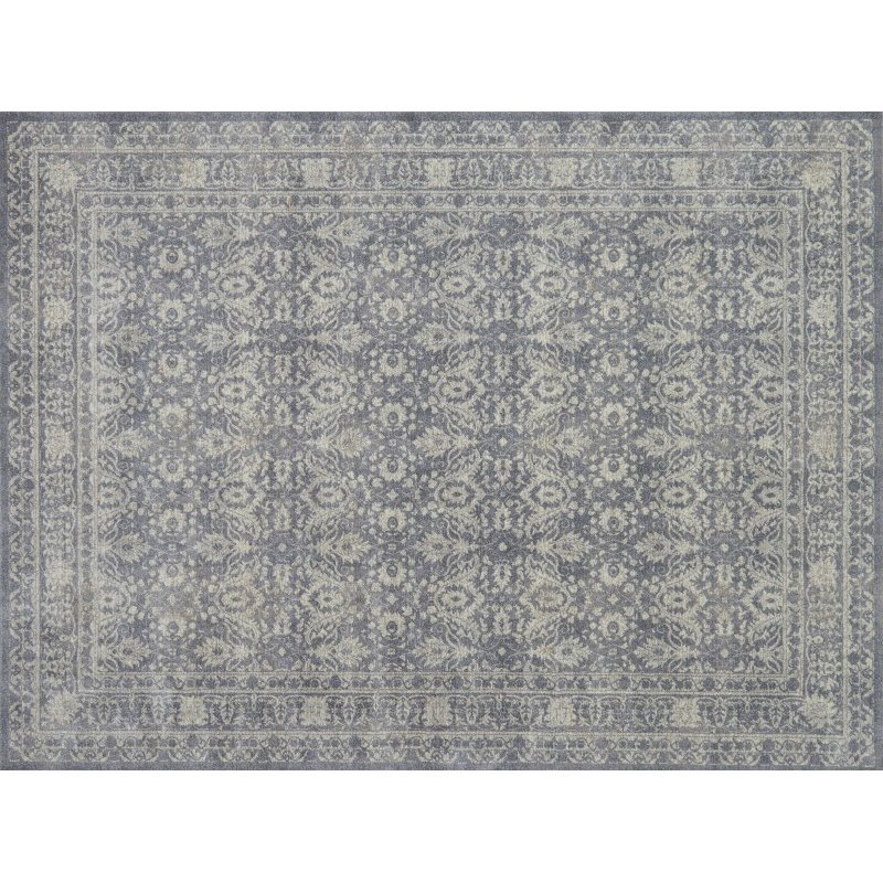 "Loloi Century CQ-09 7' 7"" Round Rug in Grey and Sand (CENTCQ-09GYSA770R)"