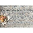 """Loloi Claire CLE-03 Traditional Power Loomed 3' 7"""" x 5' 1"""" Rectangle Rug in Ocean and Gold (CLAECLE-03OCGO3751)"""