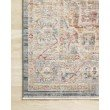"""Loloi Claire CLE-04 Traditional Power Loomed 3' 7"""" x 5' 1"""" Rectangle Rug in Blue and Multi (CLAECLE-04BBML3751)"""