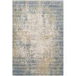 """Loloi Claire CLE-08 Traditional Power Loomed 3' 7"""" x 5' 1"""" Rectangle Rug in Neutral and Sea (CLAECLE-08NESU3751)"""
