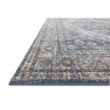 "Loloi Clara CLA-02 Transitional Power Loomed 2' 5"" x 10' 6"" Runner Rug in Blue and Lt. Blue (CLARCLA-02BBLB25A6)"