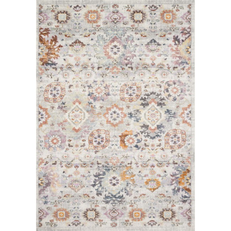 "Loloi Clara CLA-05 Transitional Power Loomed 2' 5"" x 13' Runner Rug in Multi (CLARCLA-05ML0025D0)"