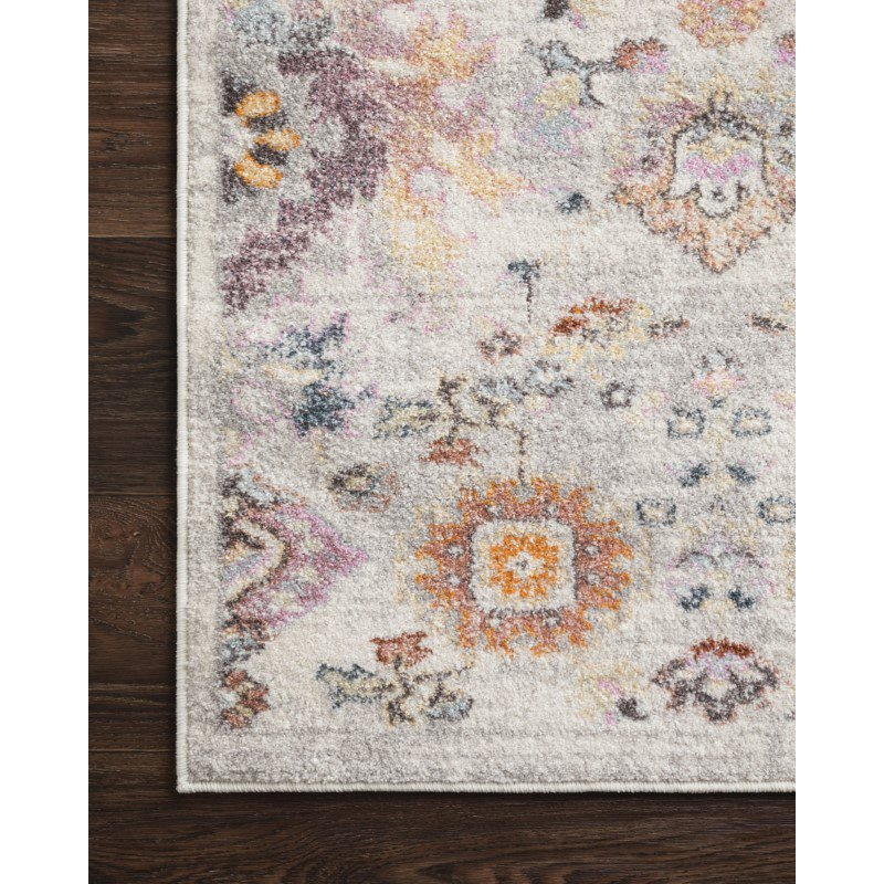 "Loloi Clara CLA-05 Transitional Power Loomed 6' 7"" x 9' 2"" Rectangle Rug in Multi (CLARCLA-05ML006792)"