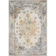 """Loloi Clara CLA-06 Transitional Power Loomed 6' 7"""" x 9' 2"""" Rectangle Rug in Mist and Multi (CLARCLA-06MIML6792)"""