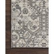 """Loloi Cole COL-01 Indoor/Outdoor Power Loomed 9' 6"""" x 12' 8"""" Rectangle Rug in Ivory and Multi (COLECOL-01IVML96C8)"""