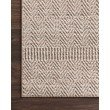 """Loloi Cole COL-02 Indoor/Outdoor Power Loomed 2' 1"""" x 3' 4"""" Rectangle Rug in Blush and Ivory (COLECOL-02BHIV2134)"""