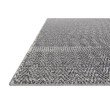 """Loloi Cole COL-02 Indoor/Outdoor Power Loomed 2' 7"""" x 12' Runner Rug in Denim and Grey (COLECOL-02DEGY27C0)"""