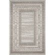 """Loloi Cole COL-03 Indoor/Outdoor Power Loomed 5' x 7' 6"""" Rectangle Rug in Grey and Multi (COLECOL-03GYML5076)"""