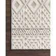 "Loloi Cole COL-04 Indoor/Outdoor Power Loomed 2' 2"" x 5' 9"" Runner Rug in Silver and Ivory (COLECOL-04SIIV2259)"