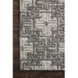 "Loloi Ehren EHR-01 Contemporary Hand Tufted 2' 6"" x 7' 6"" Runner Rug in Charcoal and Fog (EHREEHR-01CCFG2676)"