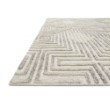 "Loloi Ehren EHR-02 Contemporary Hand Tufted 7' 9"" x 9' 9"" Rectangle Rug in Grey and Silver (EHREEHR-02GYSI7999)"