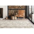 "Loloi Ehren EHR-04 Contemporary Hand Tufted 2' 6"" x 7' 6"" Runner Rug in Oatmeal and Ivory (EHREEHR-04OTIV2676)"