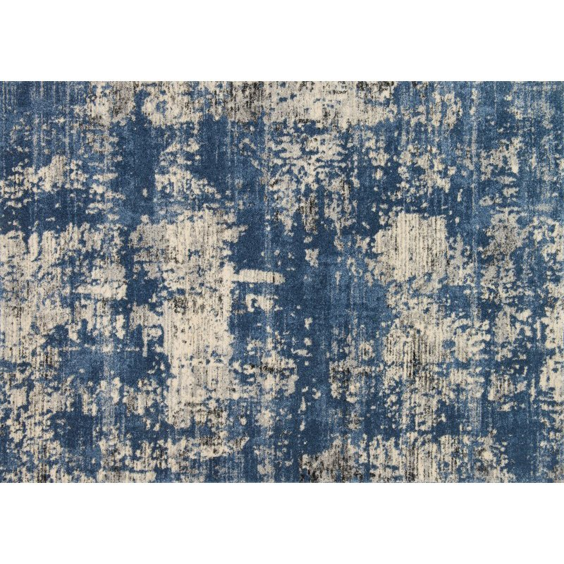 """Loloi Emory EB-11 Transitional Rectangle Rug 9' 2"""" x 12' 7"""" in Blue and Granite (EMOREB-11BBGN92C7)"""