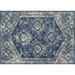 "Loloi Emory EB-13 Transitional Rectangle Rug 9' 2"" x 12' 7"" in Blue and Pebble (EMOREB-13BBPP92C7)"